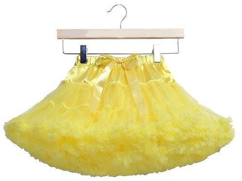 Žltá DOLLY sukňa SKLADOM