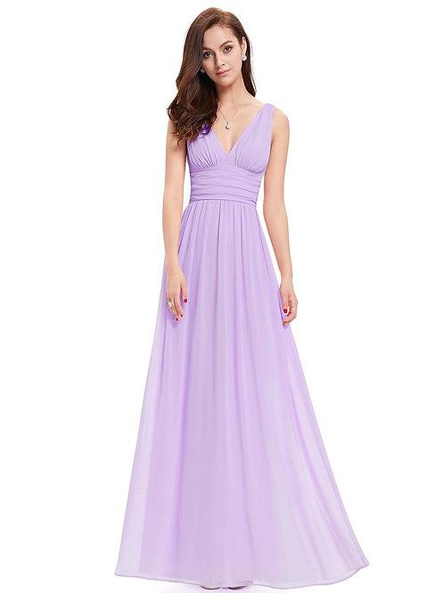 Fialové spoločenské šaty 9016 SKLADOM