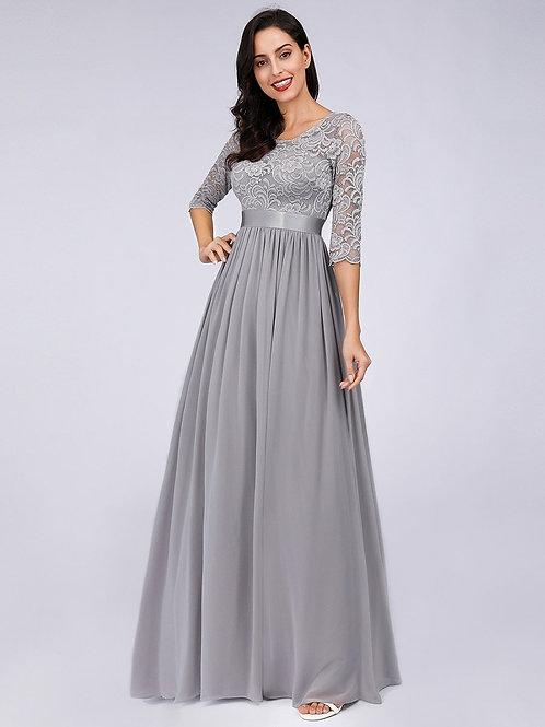 Spoločenské šaty Silver 7412