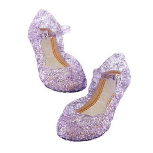 Fialové Črievičky / topánočky pre princeznú Rapunzel