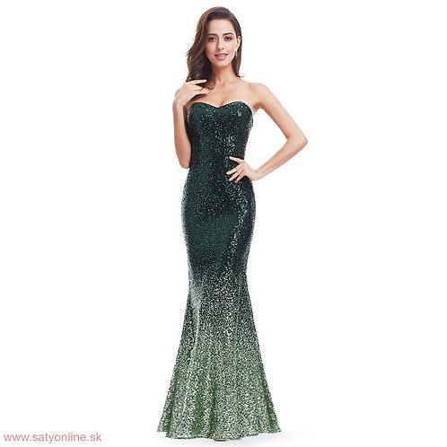 Zelene spoločenské šaty 7001 SKLADOM
