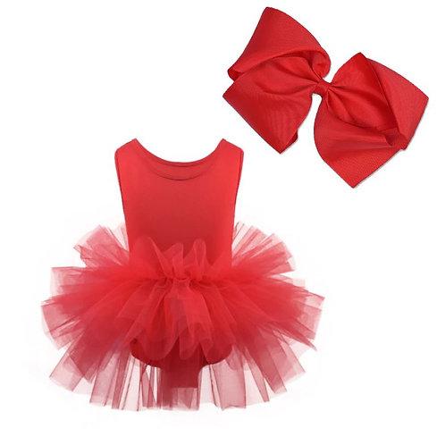 TUTU Body ŠATY na Balet RED