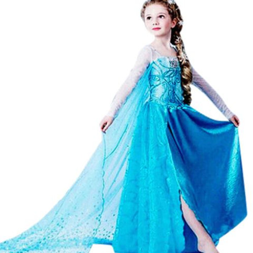 ELSA šaty - Karnevalový kostým princezná Elsa 6