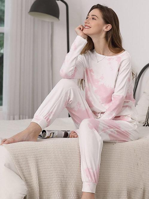 Pohodlné dlhorukávove Pyžamo v rôznych farbách