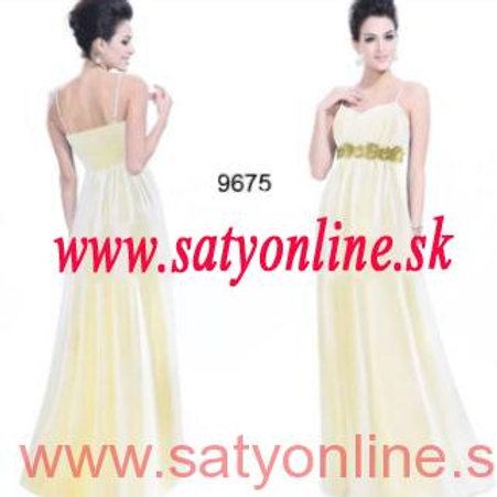Spoločenské šaty šaty 9675 SKLADOM