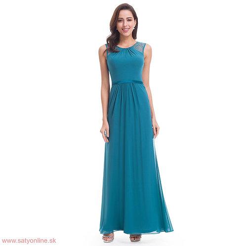 Spoločenské šaty TEAL 8742 SKLADOM