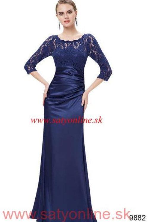 Tmavo modré šaty 9882 SKLADOM