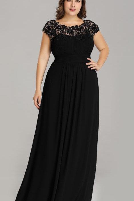 Čierne krajkové  šaty 9993 SKLADOM