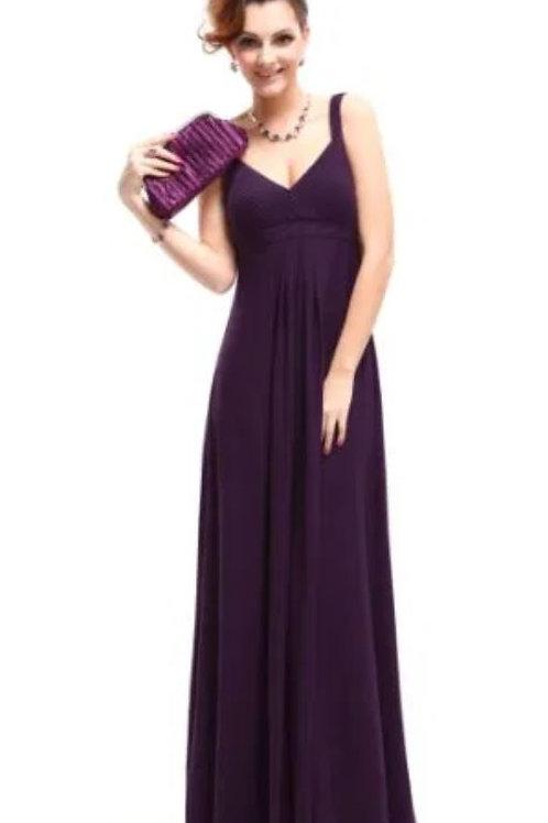 Fialové šaty 9102 SKLADOM