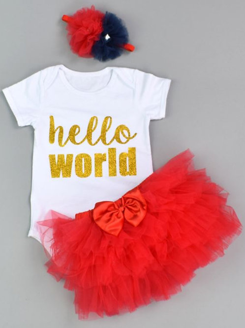 Hello World Red SET
