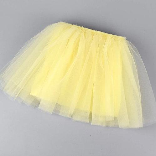 Žltá TUTU suknička
