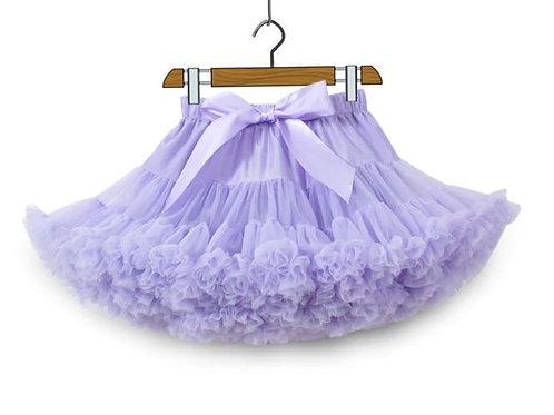 Svetlo Fialová DOLLY sukňa XL