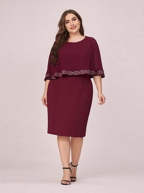 Bodrove krátke šaty pre MOLETKY 0480