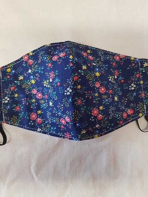 Trojvrstvové Textilné Ochranné Rúško BL007