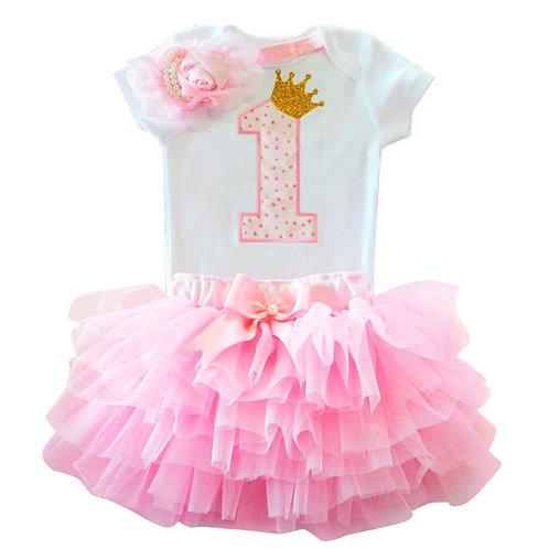 Pink Birthday SET 1 s korunkou EM