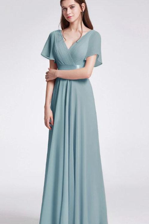 Dusty Blue Spoločenské  šaty 9890 SKLADOM