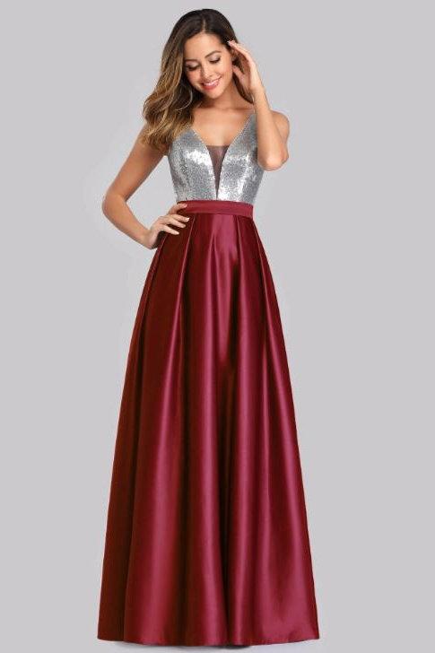 Bodrové spoločenské šaty 7638 SKLADOM