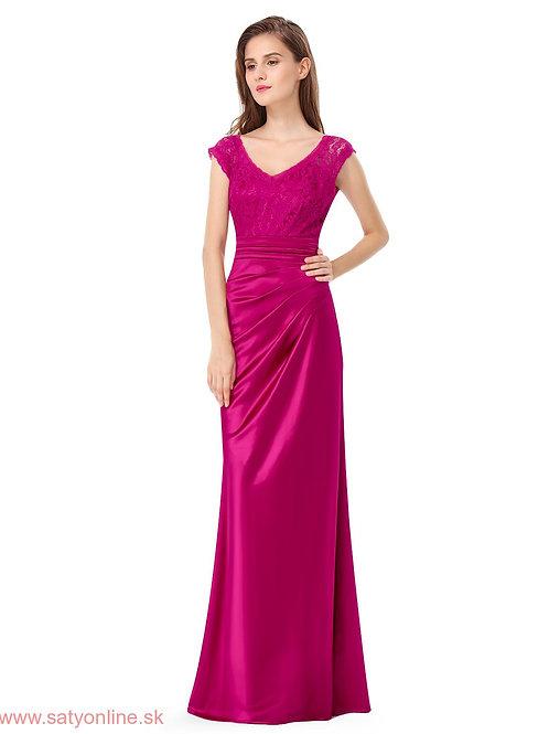 Spoločenské šaty HotPink 8986 SKLADOM