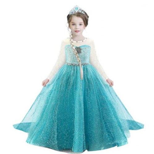 ELSA šaty - Karnevalový kostým princezná Elsa 2