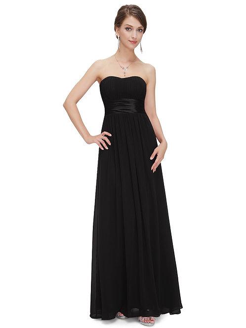 Čierne spoločenské šaty 9955 SKLADOM