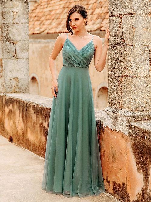 Spoločenské šaty DUSTY GREEN7369