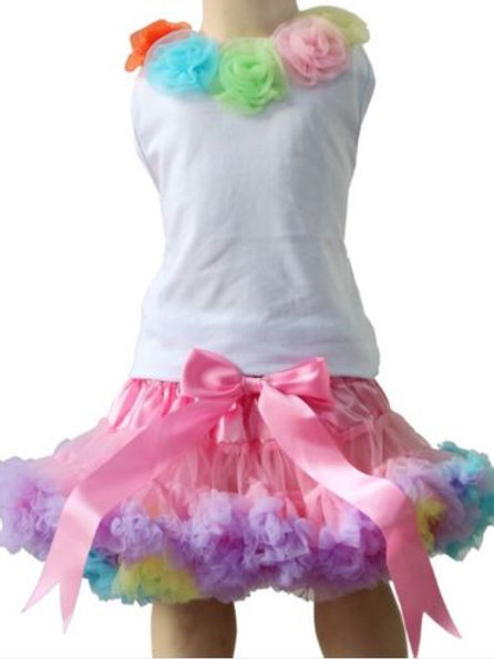 Rainbow Pink Dolly SET