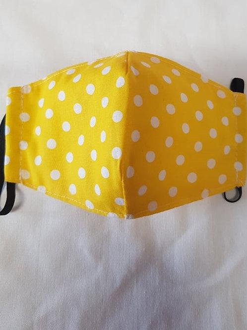 Trojvrstvové Textilné Ochranné Rúško YL010