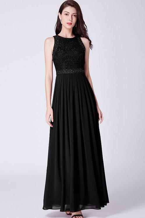 Spoločenské šaty Čierne  7391
