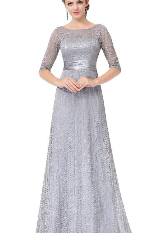 Strieborné šaty 8878
