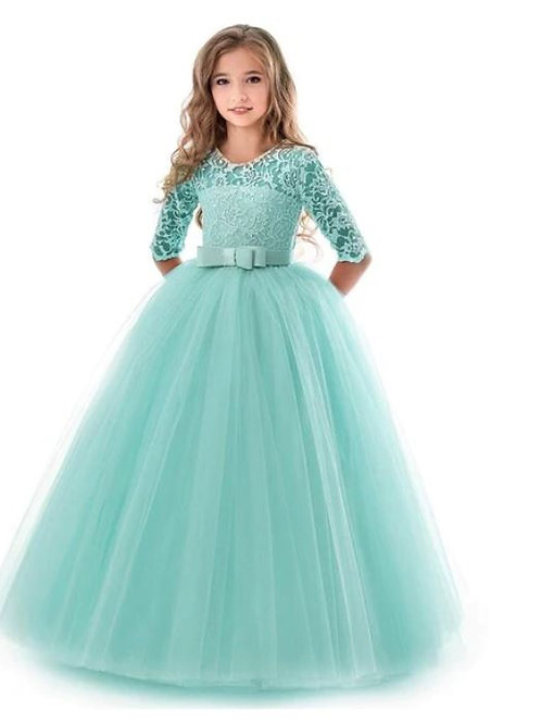 MINT krajkové dievčenské šaty s rukávom SKLADOM