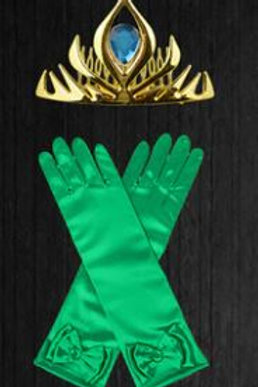 Anna doplnky ku karnevalovému kostýmu rukavice+korunka