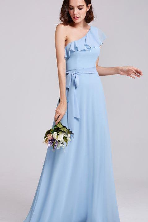Modré spoločenské šaty 7211 SKLADOM
