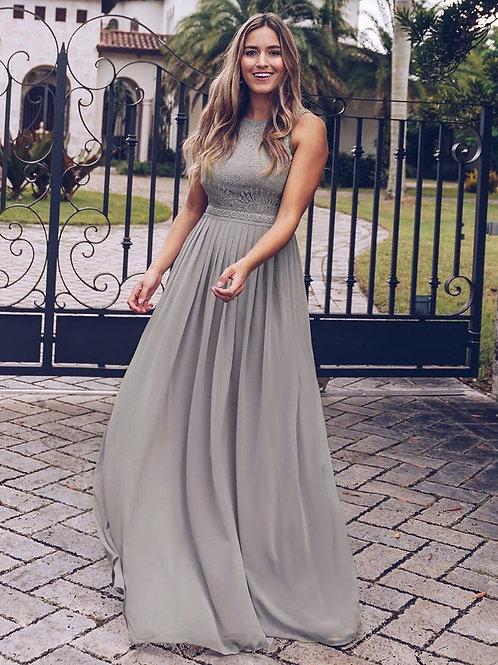 Spoločenské šaty Grey  7391