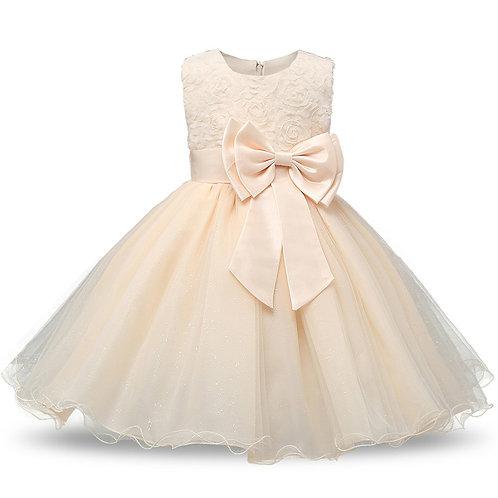 Maslové dievčenské šaty FLOWER
