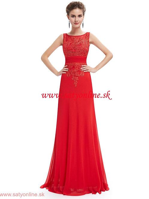 Červene krajkové šaty 8763 SKLADOM