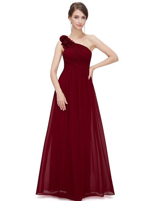 Bordové spoločenské šaty 8237 SKLADOM