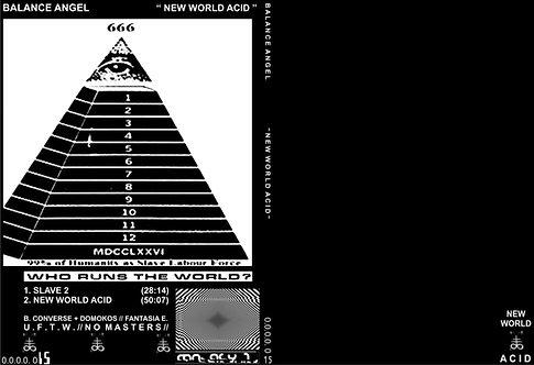 "BALANCE ANGEL ""NEW WORLD ACID"""