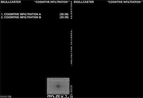 """SKULLCASTER """"COGNITIVE INFILTRATION"""""""