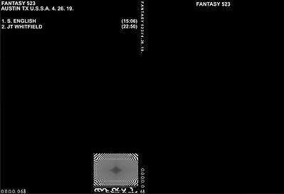 068 - S. ENGLISH - JT WHITFIELD - FANTAS