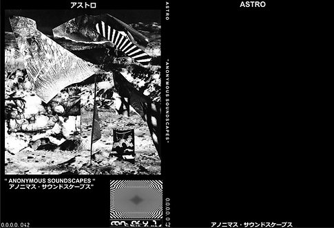 "ASTRO ""ANONYMOUS SOUNDSCAPES"" CDR"