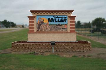 Miller South Dakota Sign