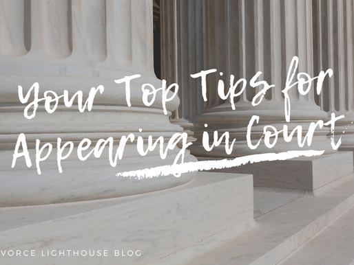 Your Top Tips for Appearing in Court!