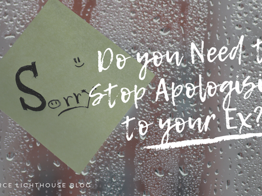 Do you Need to Stop Apologising to Your Ex?