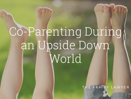 Co-Parenting During an Upside Down World