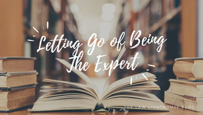 Letting Go of Being the Expert