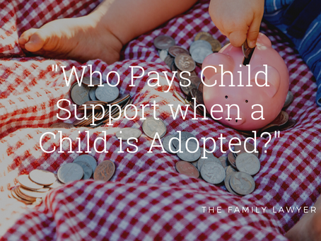 Who Pays Child Support when a Child is Adopted?