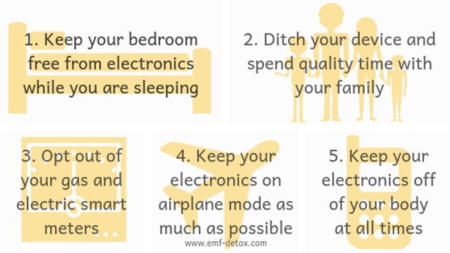 1. Keep your bedroom free from electroni