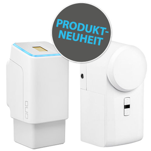 Fingerprint mit Akku und Funk inkl. eqiva BLUETOOTH® Smart Türschlossantrieb