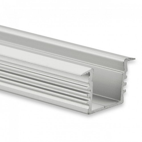 PL3 LED EINBAU-Profil 200 cm, hoch Flügel, LED Stripes max. 12 mm