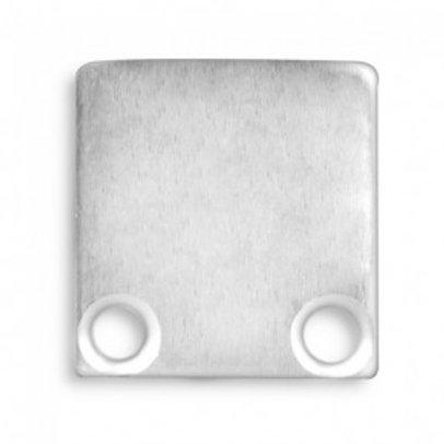 Endkappe E10.2 Aluminium für Profil PL1 in Verbindung mit PL10, 2Stk.